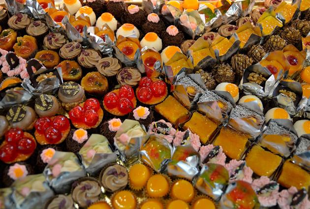 Safates de bombons variats de Pastisseria Triomf